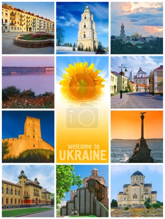 Beautiful Ukraine Collage