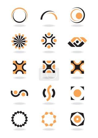 Illustration pour Élément de design d'entreprise - image libre de droit