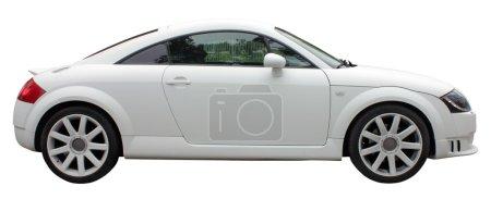 Small White Car