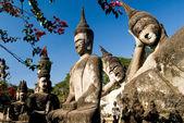 Parc de Bouddha, vientiane. Laos