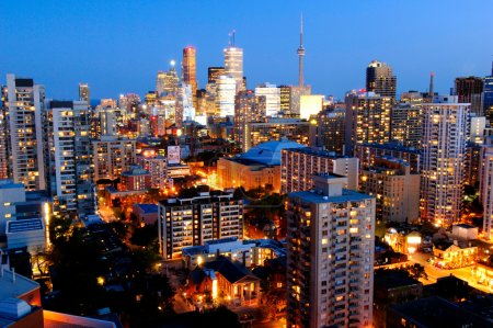 Photo for This image shows Downtown Core - Toronto, Canada - Royalty Free Image