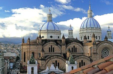 Cuenca, Ecuador - Domes Cathedral