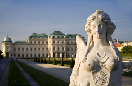 Vienna - sphinx from Belvedere palace