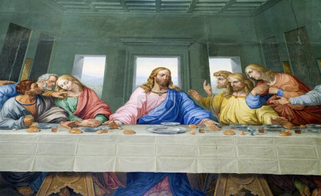 Last Supper of Chris from Vienna church - Michaelskirche