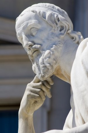 Vienna - Herodotos statue from parliament - detail