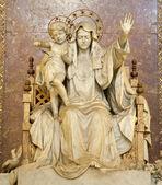 Rome - virgin Mary statue from basilica Santa Maria Maggiore