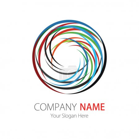Company (Business) Logo Design, Vector, Arcs