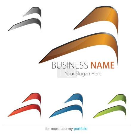 Компания Бизнес Дизайн Логотипа Вектор