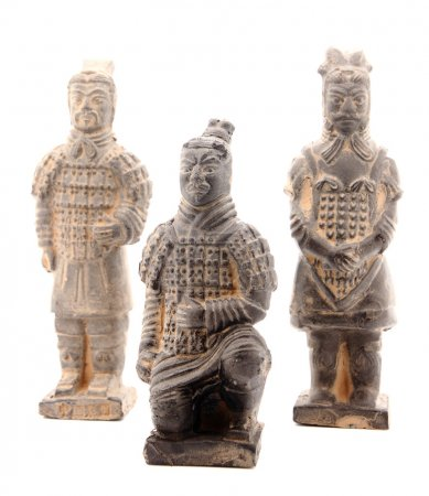 Group of terracotta warriors
