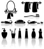 Badezimmer-Symbole