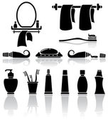 Koupelna ikony