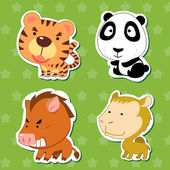 Cute animal stickers 06