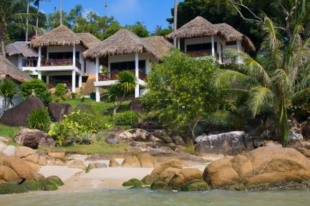 Casa de playa tropical en la isla Koh Samui, Tailandia