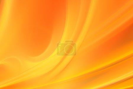 Photo pour Abstrait orange adapté aux bannières et publicités - image libre de droit