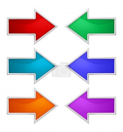 Sign arrow