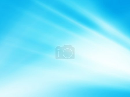 Photo for Blue abstract composition and place for your text - Royalty Free Image