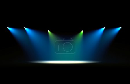 Photo for Color scene spot light background - Royalty Free Image