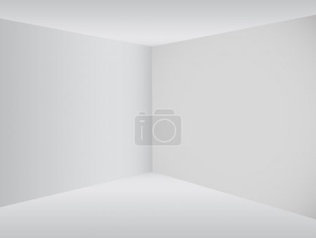 Illustration for Empty corner in the room - Vector - Royalty Free Image