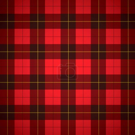 Wallace tartan Scottish plaid Background...