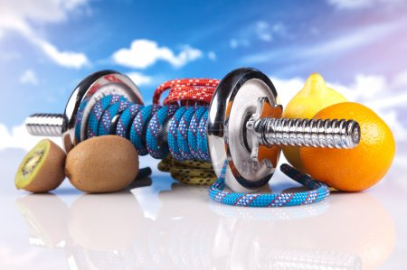 Photo for Fitness equipment - Royalty Free Image