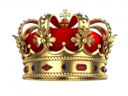 Couronne royale d'or