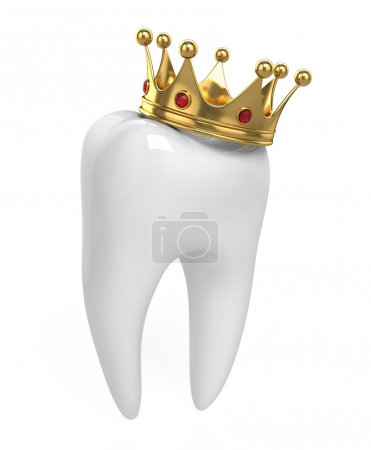 Tooth and crown