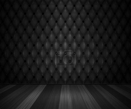 Photo pour Chambre de luxe noire - image libre de droit