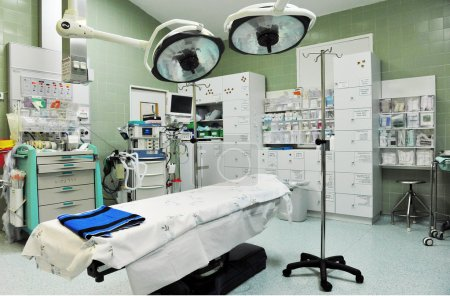 Photo pour Une salle de chirurgie vide. - image libre de droit