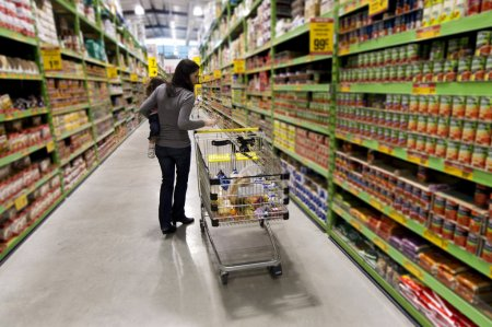 Concept Photo - Shopping Trolley Cart
