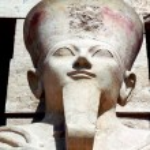 The Great Temple of Hatshepsut in Luxor, Egypt....