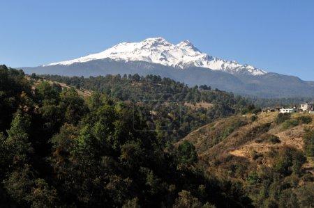 Iztaccíhuatl-Vulkan