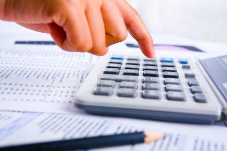 Calculating using calculator