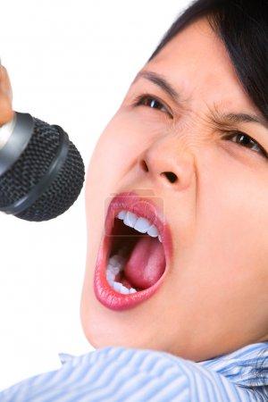 Loud singing
