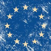 EU retro flag