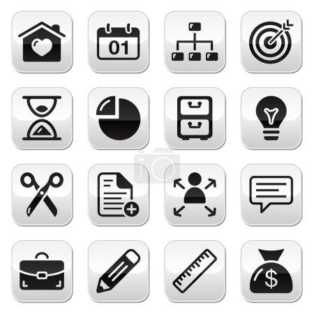 Internet web buttons set