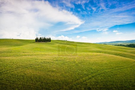 Scenic Tuscany landscape