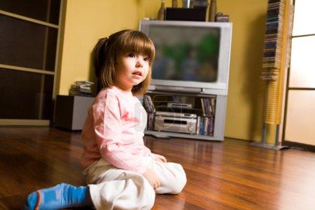 Girl on the floor