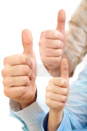 Big thumbs