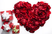 Heart and gifts