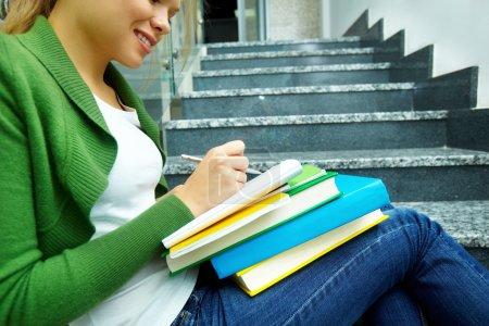 Writing in copybook