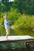 Gyerek halászati