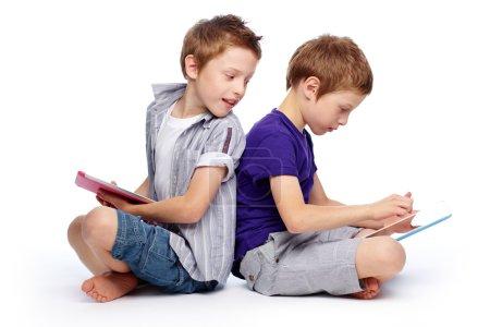 Hi-tech kids