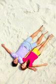 dormir sur le sable