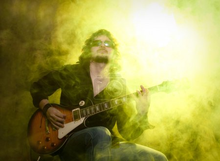 Photo for Man with guitar - Royalty Free Image