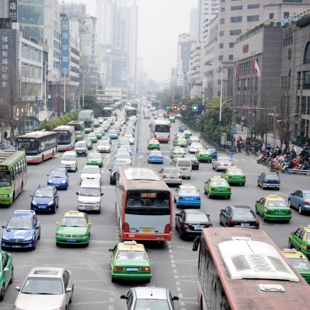 Photo for Traffic in Shanghai - Royalty Free Image