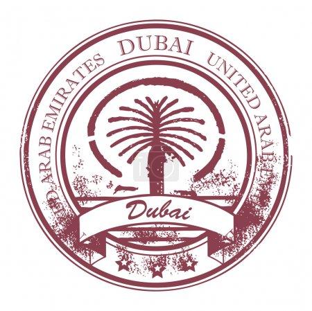 Stamp Dubai, United Arab Emirates