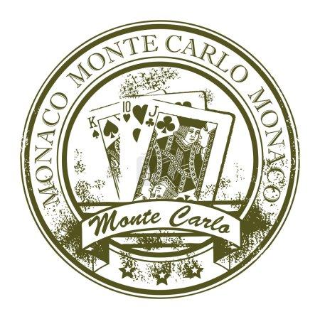 Stamp Monte Carlo Monaco