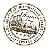 Stamp Rome, Italy