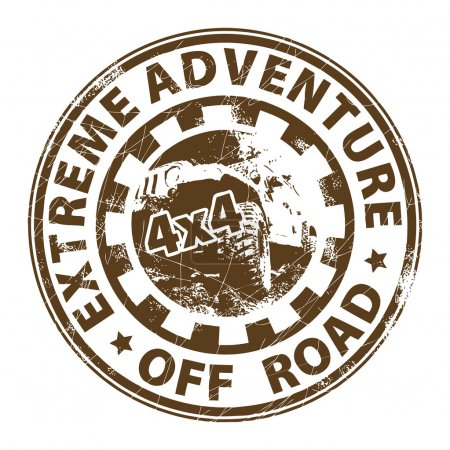 Off road stamp
