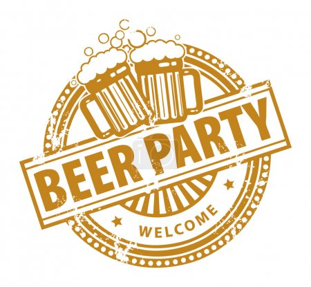 Beer Party stamp